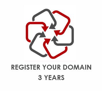 Domain Name Registration - 3 years